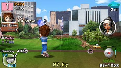 Hot Shots Golf: Open Tee 2 PSP