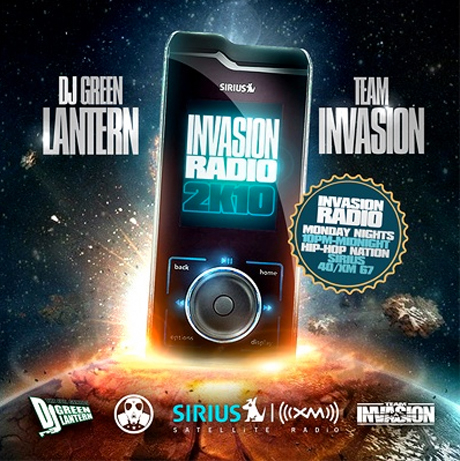 DJ Green Lantern <i>Invasion Radio 2K10</i> Mixtape