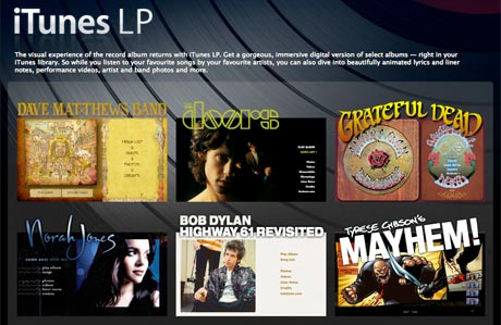 Apple Opens Up iTunes LP to Indie Labels