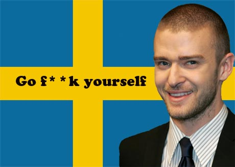 Justin Timberlake Takes On Swedish Fans, Throws Some Ping Pong Balls and Gobs On Them