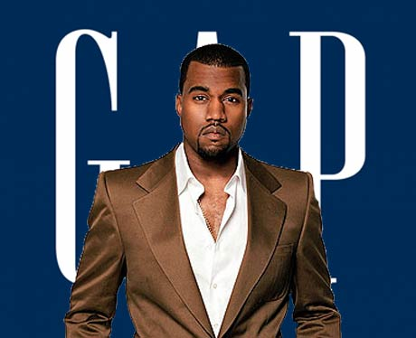 WTF? Kanye West Is Working at the Gap?