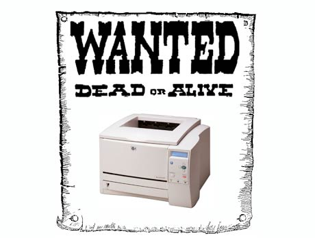 Laser Printers Accused of Copyright Infringement