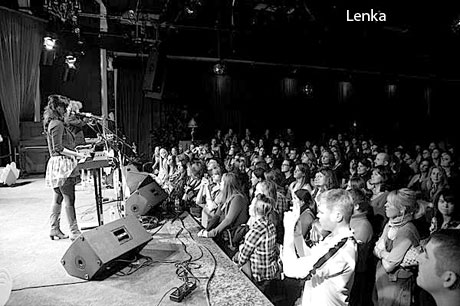 Lenka / Megan Hamilton The Drake, Toronto ON February 2