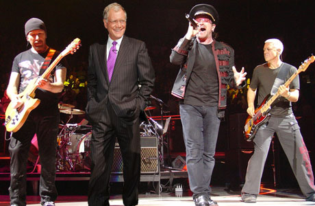 U2 To Play <i>Letterman</i> For Full Week in March