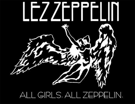 Music Media Falls For Lez Zeppelin