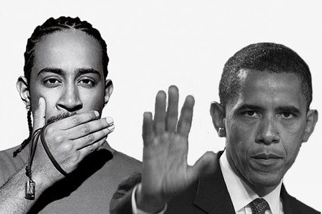 Obama Not Impressed With Ludacris Dedication