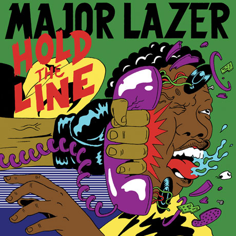 "Major Lazer ""Hold the Line"" (Featuring Santigold and Mr. Lex)"