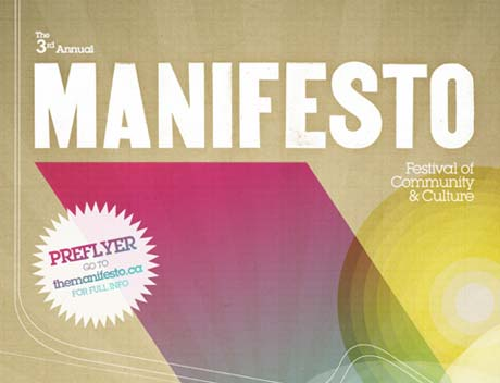 Manifesto to Touch Down in Toronto with Over 150 Artists, Art Exhibitions, Workshops, and Talib Kweli and Hi-Tek
