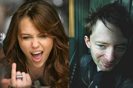 "Miley Cyrus Disses ""Stinkin' Radiohead"""