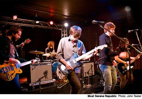 The Most Serene Republic / Meligrove Band / Single Mothers London Music Hall, London, ON November 4