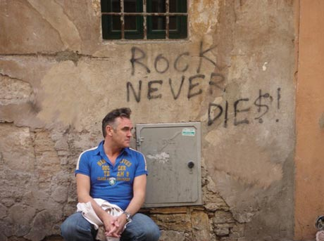Morrissey Prepares to Snub Hall of Fame