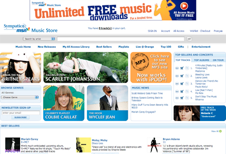 Microsoft Screws MSN Music Store Customers