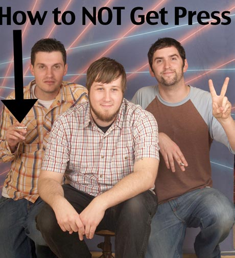 Music Summer School How Not to Get Press