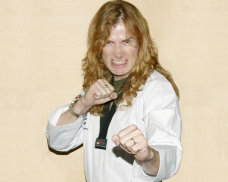 Dave Mustaine Shits on Politics, Bassists