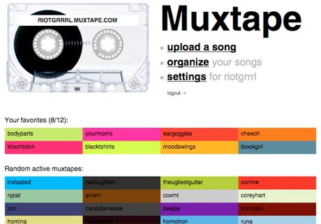 "Muxtape.com Struck With ""Good Disease"""