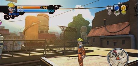 Naruto: Rise of a Ninja Xbox 360