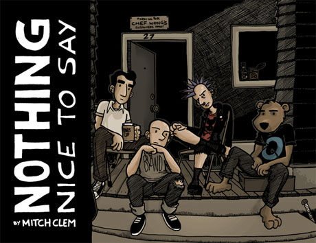 Mitch Clem's <i>Nothing Nice to Say</i> Comic Published This Fall