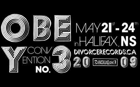 Divorce Records Announces Line-Up For Third OBEY Convention