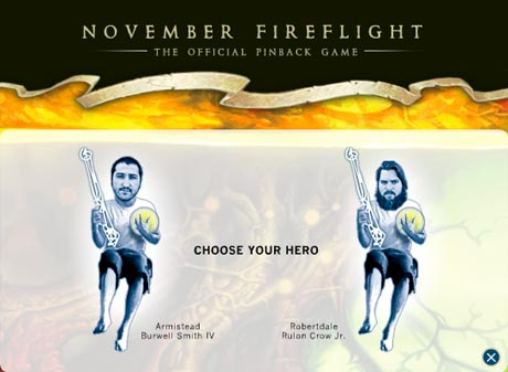 Pinback Launch Videogame to Promote <i>Autumn of the Seraphs</i>