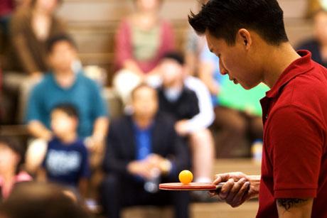 Ping Pong Playa Jessica Yu