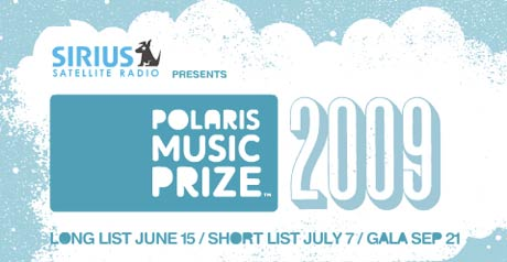 Polaris Music Prize Reveals Its 2009 Short List
