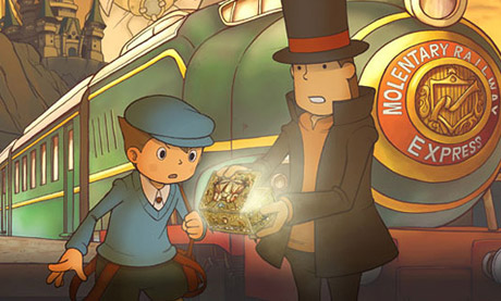 Professor Layton and Diabolical Box DS
