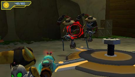 Ratchet and Clank: Size Matters PSP