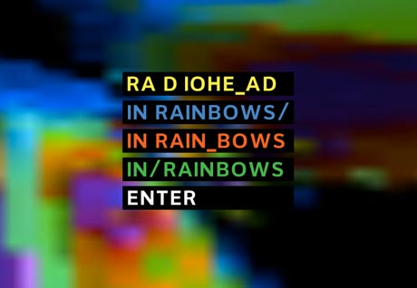 Radiohead <i>In Rainbows</i>