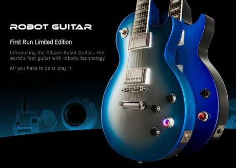 Gibson Introduces the 'Robot Guitar'