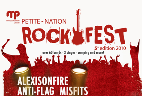 Voivod, Misfits, Alexisonfire and Anti-Flag to Rock Petite-Nation Rockfest 2010