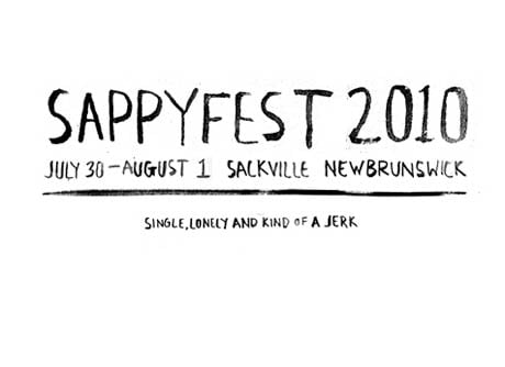 SappyFest Rounds Out 2010 Line-Up with By Divine Right, Attack in Black, $100, Diamond Rings