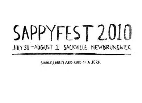 SappyFest Announces Holy Fuck, Chad VanGaalen, the Sadies and More in Initial 2010 Line-Up