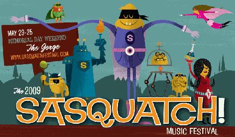 Sasquatch! Festival Line-Up Revealed