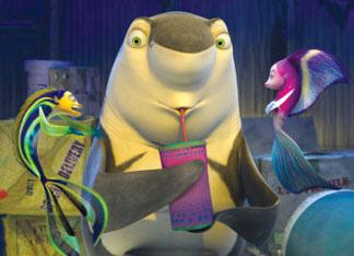 Shark Tale Bibo Bergeron, Vicky Jenson and Rob Letterman