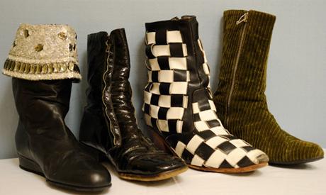Shoes Worn by Jimi Hendrix, Madonna, John Lennon, Eminem Head to Toronto for Rock'n'Roll Footwear Exhibit