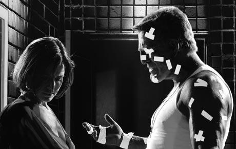 Sin City Robert Rodriguez and Frank Miller