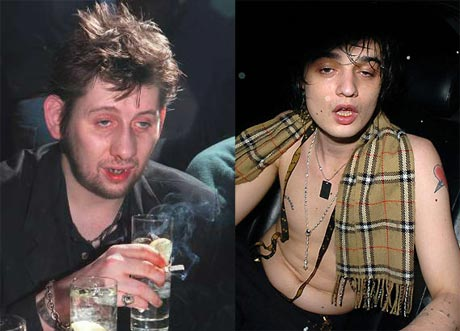 "The New ""Chemical Brothers"": Pete Doherty to Room with Shane McGowan"