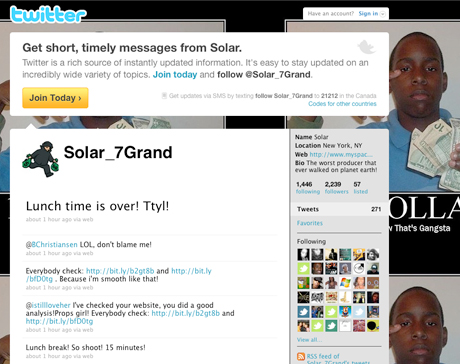 Solar Gets Email, Twitter Hacked; Private Documents Surrounding Guru's Death Leak Online