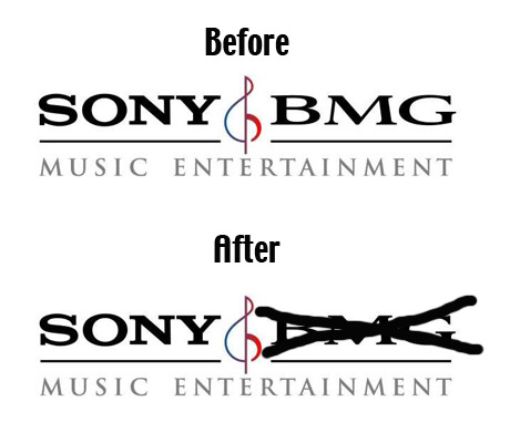 Sony And BMG Break Up, Won't Remain Friends