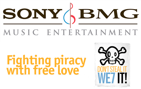 Sony BMG Joins We7 To Stream Albums For Free