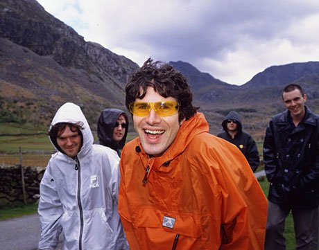 "Super Furry Animals Document ""The Banal Nature of the Mixing Process"""