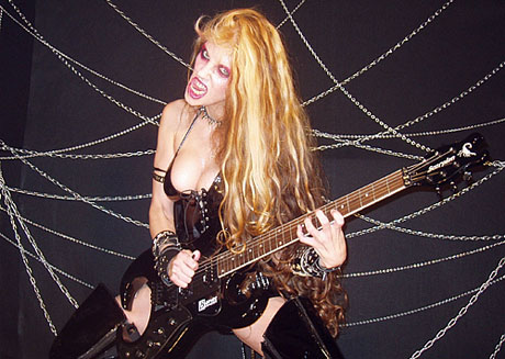 Great Kat Beethoven's Guitar Shred