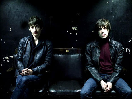 Alex Turner and Miles Kane Writing 'X-Men'-Style Film Script