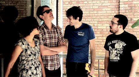 Check out the Thermals Take Over Exclaim! TV in <i>Garageland</i>