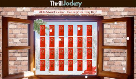 Thrill Jockey Introduce Free MP3 Advent Calendar