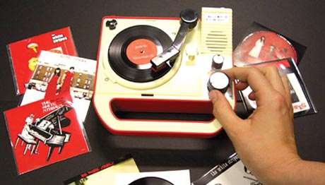 Retro in Miniature RECORD PLAYER
