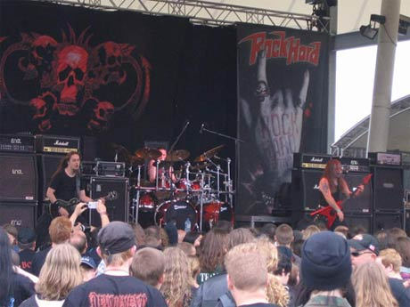 Vader And Blood Was Shed In Warsaw