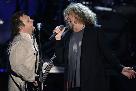 <i>Guitar Hero: Van Halen</i> Axes Sammy Hagar and Michael Anthony