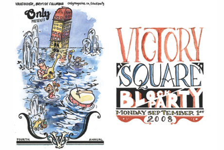 Line-up Announced for Vancouver's Victory Square Block Party
