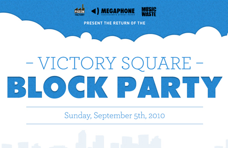 Vancouver's Victory Square Block Party Announces 2010 Lineup with the Pack A.D., Makeout Videotape, Apollo Ghosts